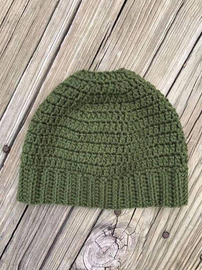 Messy Bun or Ponytail Hat