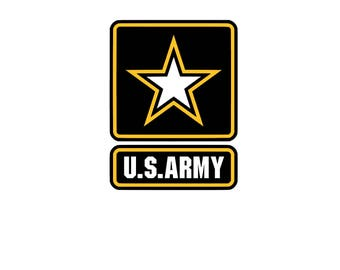 us army logo etsy rh etsy com army ranger logo pictures salvation army logo pictures