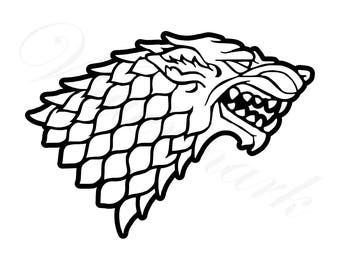 photo about Game of Thrones Stencil Printable named Obtained properties svg Etsy
