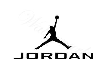 Jumpman SVG & Studio 3 Cut File Logo for Silhouette Cricut Designs Logos Design Decals SVGs Files Cutout Downloads Michael Basketball Jordan
