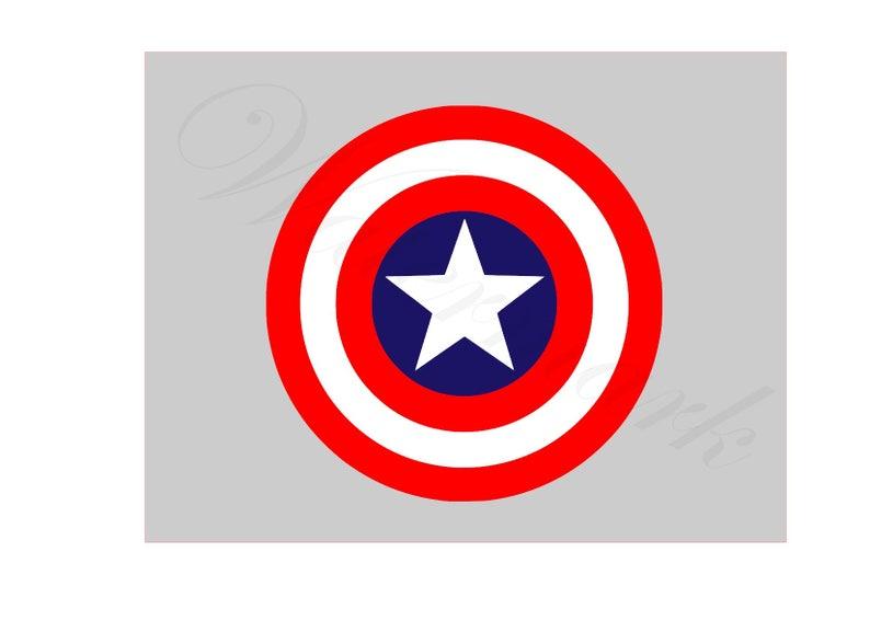 America Svg And Studio 3 Cut File Cutouts Files Captain Logo Etsy