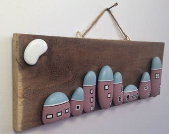 Contemporary - Unique wall art, great for home decor, or as a unique gift for a birthday, housewarming, wedding, anniversary or Christmas.