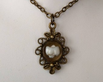 Real Human Baby/Milk Tooth Pendant, 104