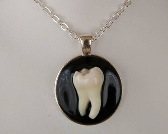 Real Human Tooth Pendant, 118