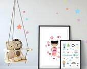 Affiche Petite japonaise,...