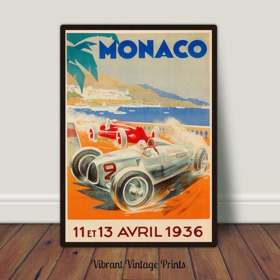 Vintage Porsche Advertising  Poster A3 Print