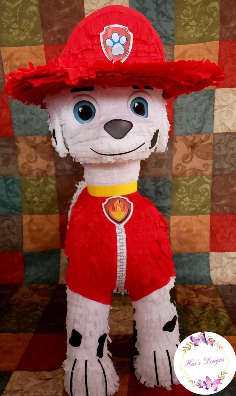 paw patrol pi\u00f1ata paw patrol party marshall pi\u00f1ata paw patrol decorations paw patrol supplies marshall decorations