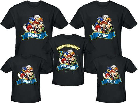 Family Birthday Shirts. Pocoyo Personalized Custom Birthday Party Boy Shirt