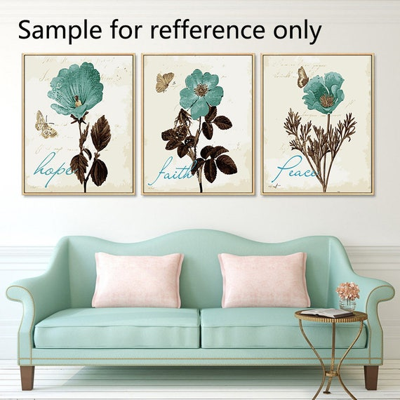 Framed Paint By Number Kit Abstract Flowers Painting Diy Abstract Flowers Oil Painting On Canvas Gifts Wall Art Gift