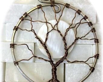 Wire Wrap Moon Tree