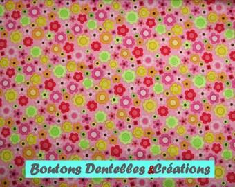 Riley Blake fabric - Flowers - Ladybug garden Collection