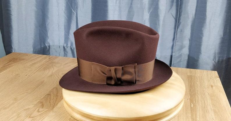 8f7011108c977f FLOKI FEDORA by HUFVUD Custom made hat Custom Leather | Etsy