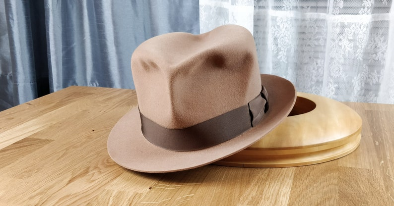 c2a14a4f6f780 OLAFUR TRILBY by HUFVUD Made to measure Custom Leather