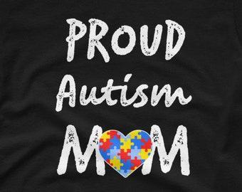 Proud Autism Mom Women's short sleeve t-shirt
