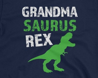 72d89d48 Grandma Saurus Rex Funny Short-Sleeve Unisex T-Shirt
