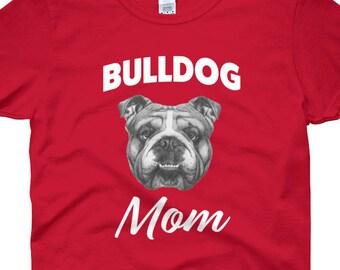 Proud Bulldog Mom Women's short sleeve t-shirt
