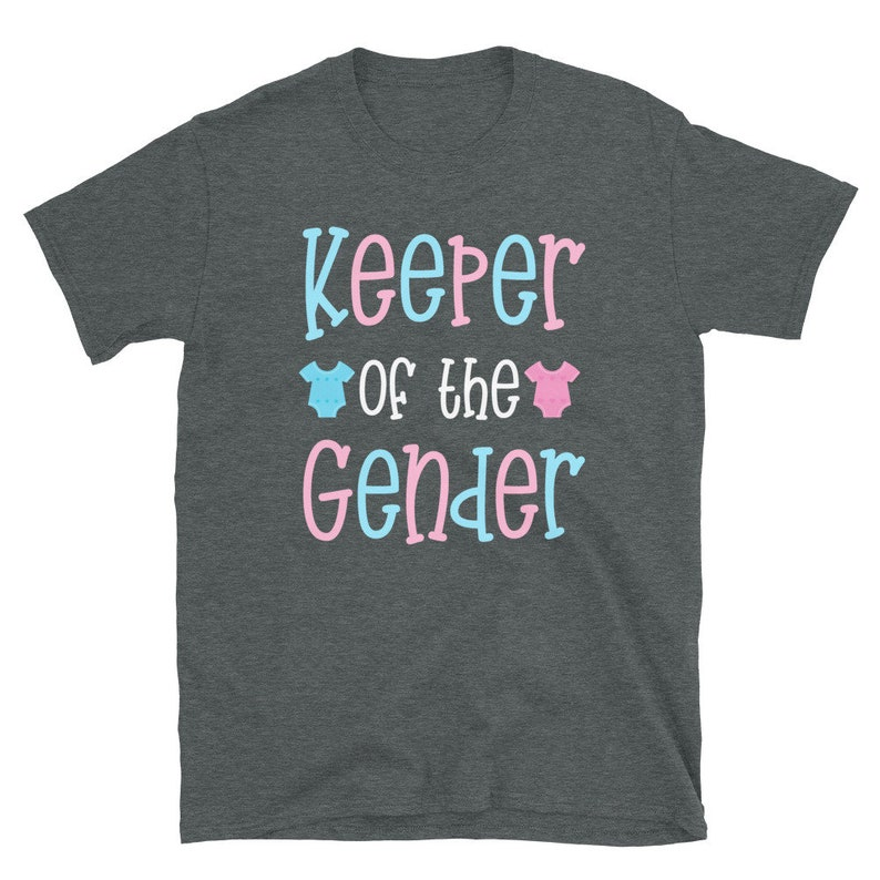 Keeper of the Gender  Gender Reveal Shirt  Pregnancy Announcement T-shirt  Gender Reveal Party Shirt  Future Mom