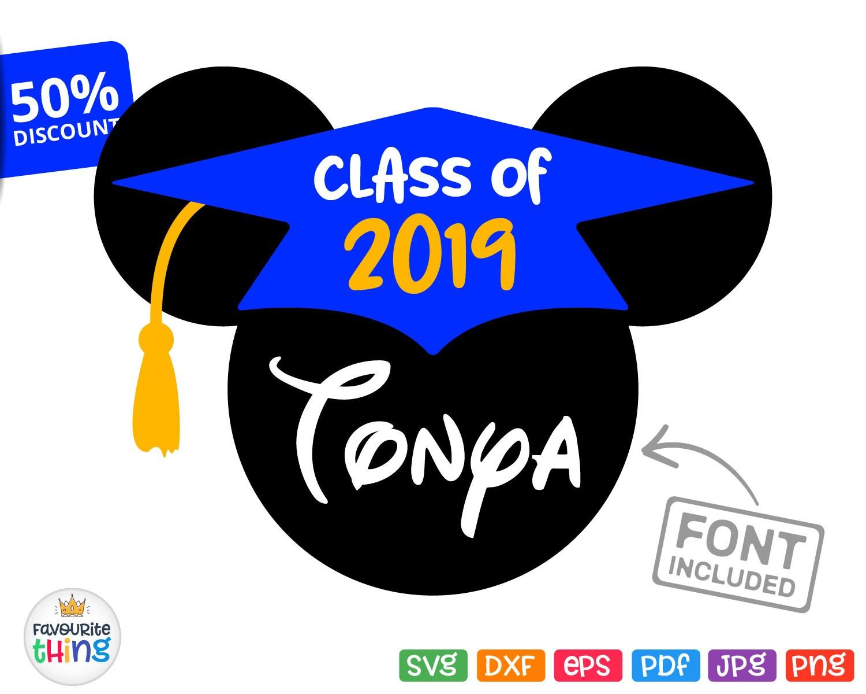 Disney graduation | Etsy |Graduation Mickey Mouse Shirts