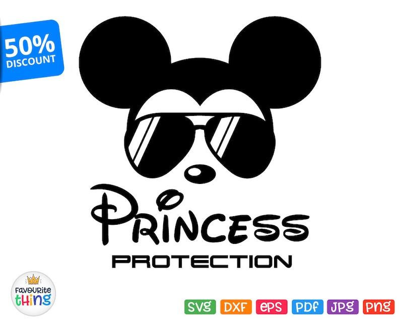 b3620fed43 Princess Protection Svg Mickey Sunglasses Svg Disney Boys