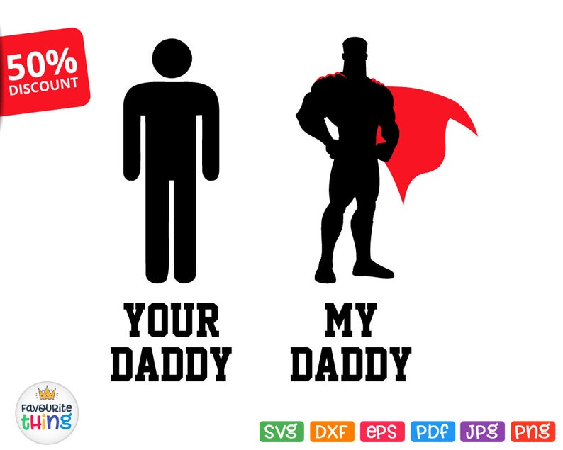 1b0b63e84 Father's Day Svg Baby T-shirt svg Cut File Your Daddy My | Etsy