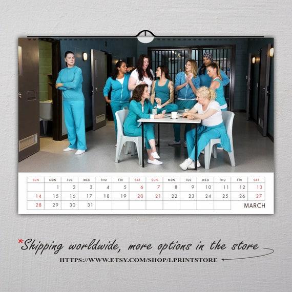 Wentworth//Prisoner Calendar 2021