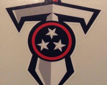 Tennessee Titans 4 inch decal vinyl sticker
