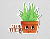 Hello There Aloe Vera Magnet Aloe There Succulent Refrigerator Magnet