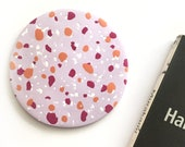 Clay Terrazzo Coaster (Pink/orange), Trivet