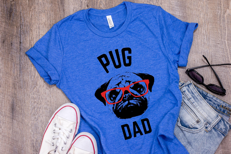 0cf70c39 Pug T Shirt Pug Dad Pug Shirt For Men Gift For Dog | Etsy