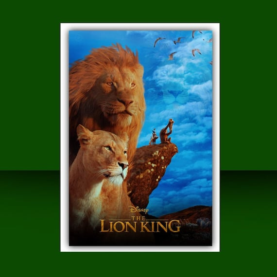 Lion King Poster Etsy