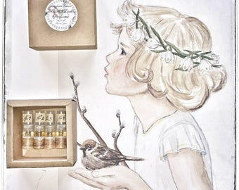 Samples of Natural Perfume/ 4 Samples of 3ml Perfume/ Your Choice Natural Perfume Sample Singles/ All-Natural Botanical Handmade Scents