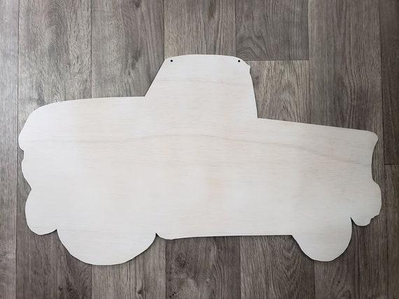 Primed Truck Blank