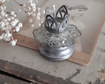 vintage pretty candle holder old
