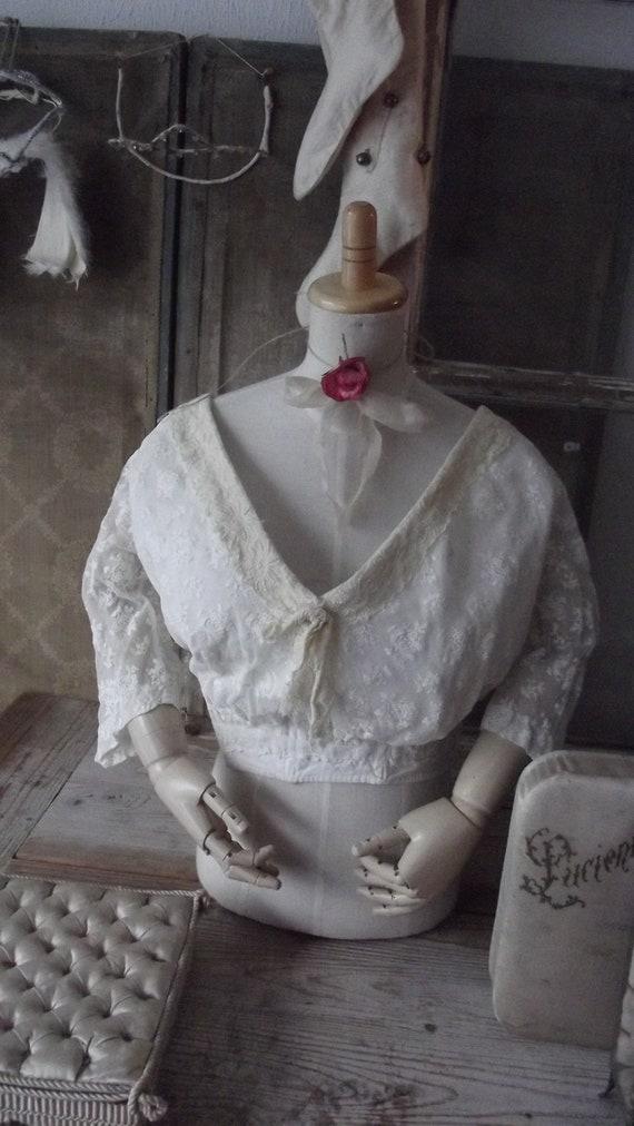 antique 1900 1900s bodice regency style 19th centu