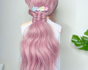 Pretty Pastel Pink Green Blue Yellow Bridal Wedding Bridesmaid Flowergirl Floral Flower Cherry Blossom Hair Comb