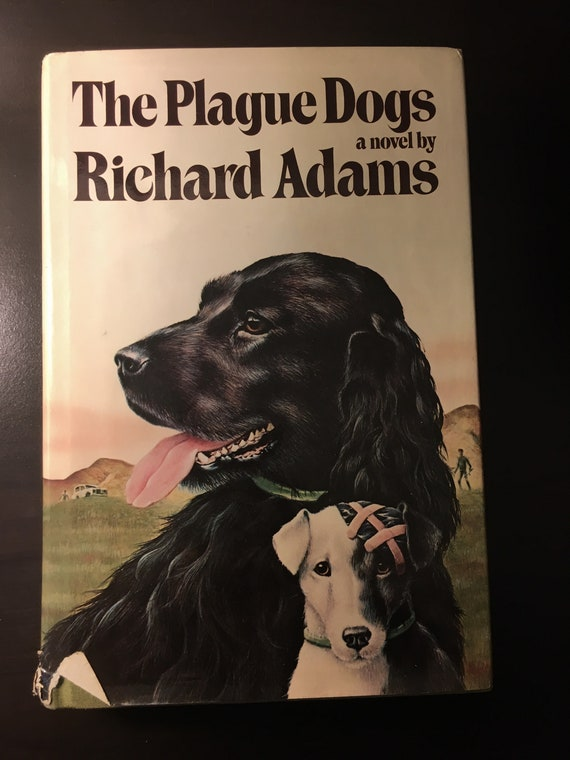 The Plague Dogs by Richard Adams 3rd Printing | Etsy