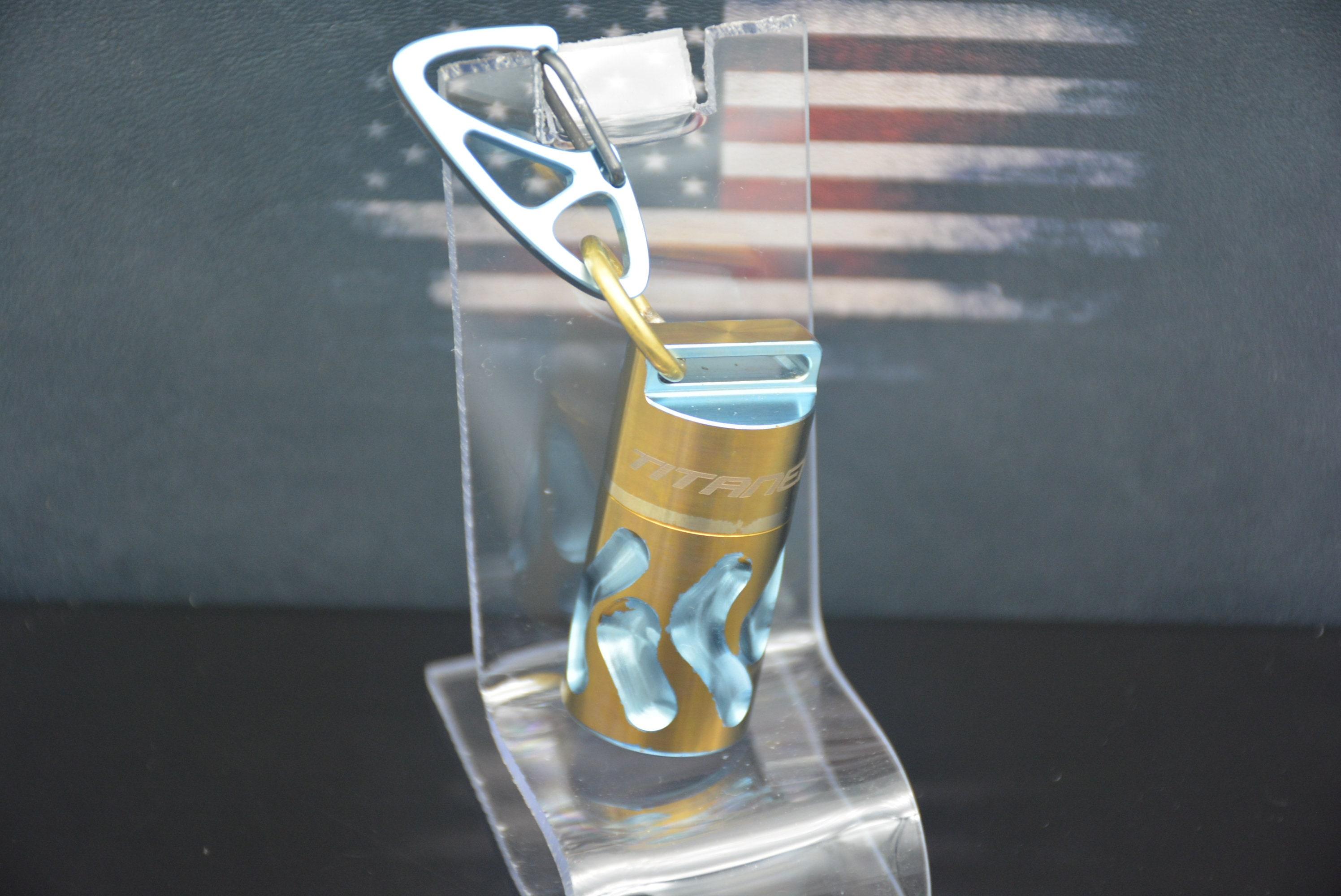 Titaner miel doré personnalisé et pilule bleue clair Capsule Capsule Capsule - II c78d1b