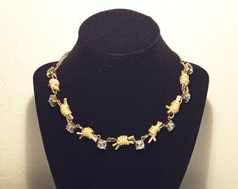 Fashion Barb Wire Necklace