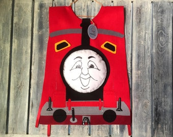 James The Train Inspired Halloween Costume For Toddlers Thomas Tank Engine