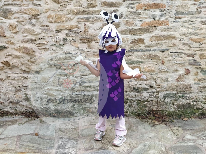 Boo Monsters Inc Costume Inspired Monsters Inc Boo Etsy