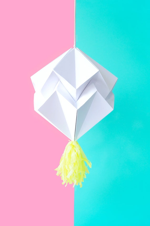 Space Pinata to Design DIY Pleated Origami Folding Lampion PartyPinata Birthday Spinata HANDMADE