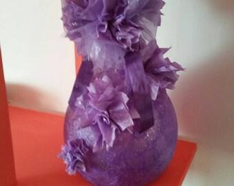 Vase decorated