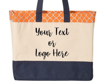 Custom Beach Tote Bag Waterproof 3 color Your Text or Logo Make it your Own  school event bag personalized graphic Christmas Gift Myrtle 63dd191abd8c8