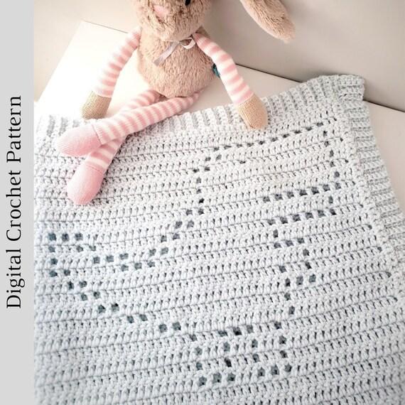 Graph Patterns Filet Crochet Baby Blanket - Bing | Bobble stitch ... | 570x570