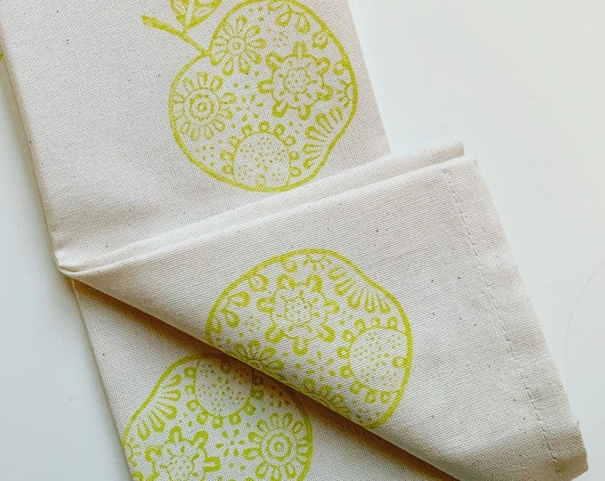 Apple Tea Towel