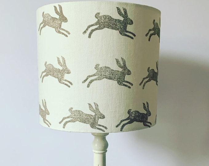 Jumping Hares Lampshade