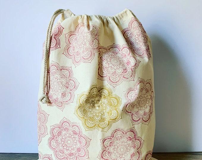 Mandala Laundry Bag