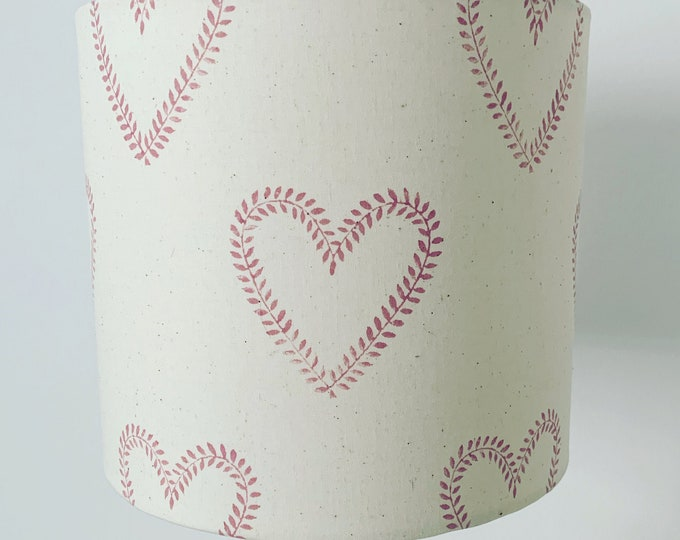 Heart Wreath Lampshade