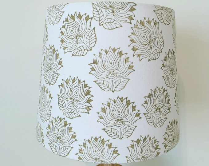 Lotus Flower Empire Lampshade