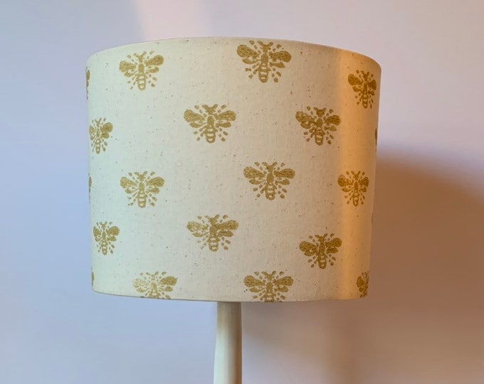 Mini Gold Bumble Bee Lampshade